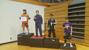 Junior Korbin Lane places 4th at Regionals.