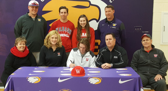 GC Baseball, Senior Jared Cowan signs with Wabash College