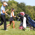 Angelica Pfefferkorn at Girls Golf State Championships – Friday, September 29, 2017