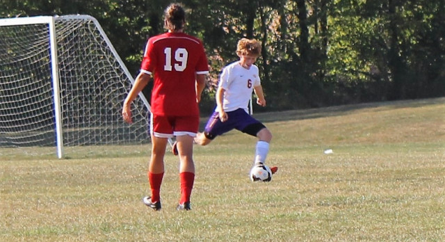 Guerin Catholic High School Boys Varsity Soccer ties Munster High School 2-2