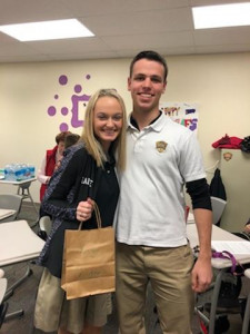 Maddie W & Chris - Secret Santa