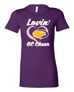Cheer Camp t-shirt 2018