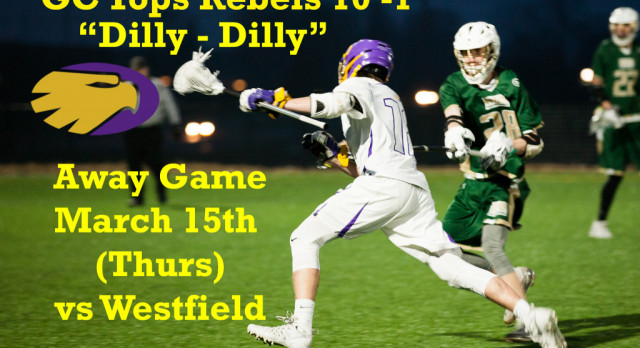 Just in time for St. Patrick's Day – Tonight – GC vs Westfield