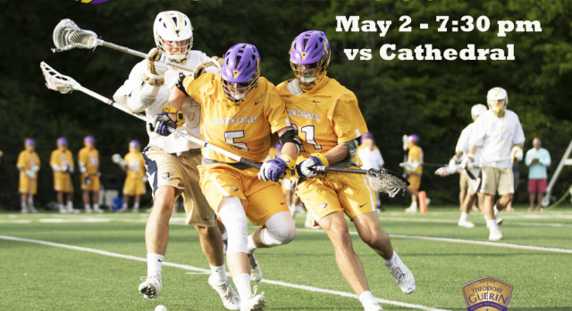 PACK THE HOUSE ! May 2 vs Cathedral / Golden Eagles fall to the Braves in OT