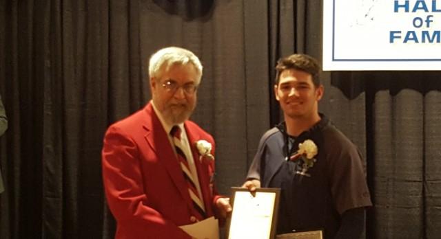Brandon Bartlome wins 2016 J. Ed Uland Award