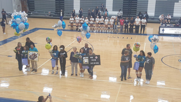 VBall Senior Night