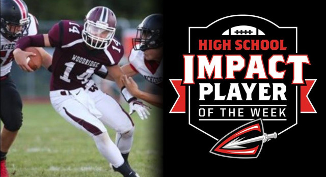 Senior Mason Lydic Named Cleveland Gladiators High School Impact Player of the Week