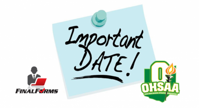 Mandatory OHSAA Winter Sports Meeting- October 24