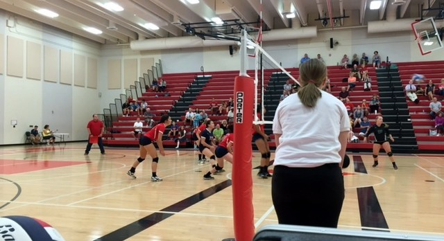 Volleyball Sweeps West Lutheran 3-0