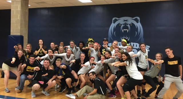Sequoyah High School Girls Varsity Volleyball beat Cambridge High School 3-2