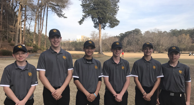 Sequoyah High School Boys Varsity Golf beat Cherokee High School 162-166