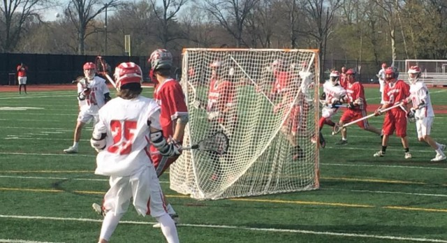 Boys lacrosse defeats Mentor 22-7