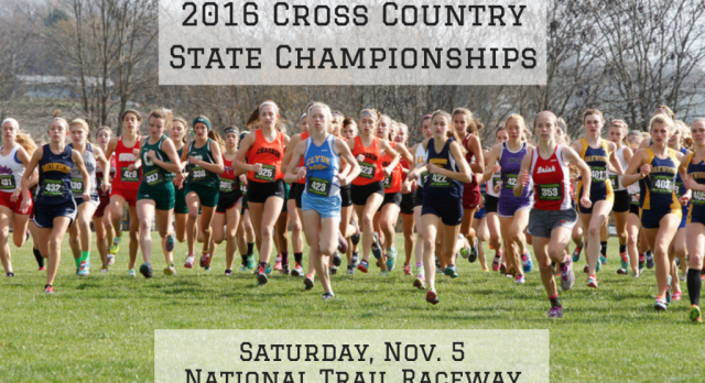 OHSAA Division I Girls Cross Country State Championship Meet teams set