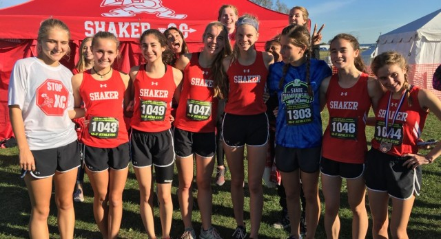 Girls Varsity Cross Country finishes 7th place at State Meet