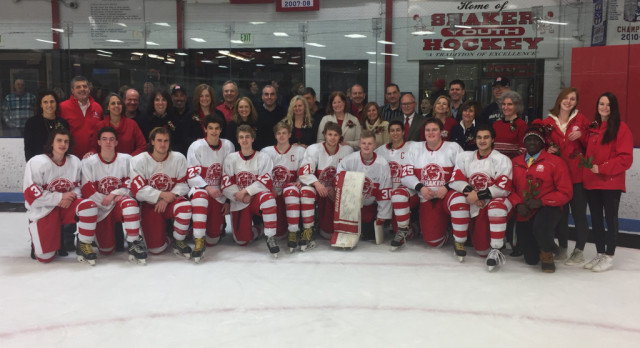 Hockey finishes 1st in GCHSHL Red North; #1 seed in Baron Cup