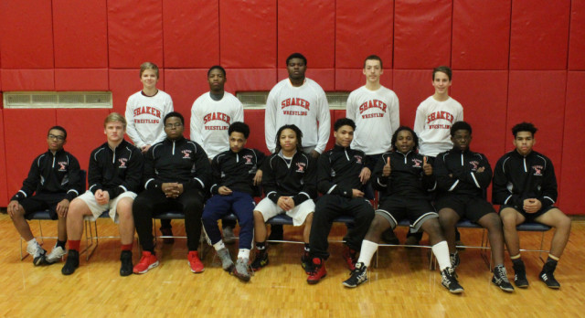 Shaker wrestlers place 1st, 2nd & 3rd at GCC; Host Bedford/Mentor Saturday