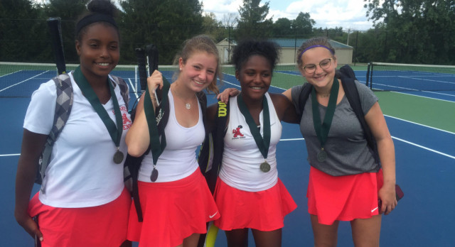 Shaker Tennis takes 1st & 2nd at WRA Doubles Tourney