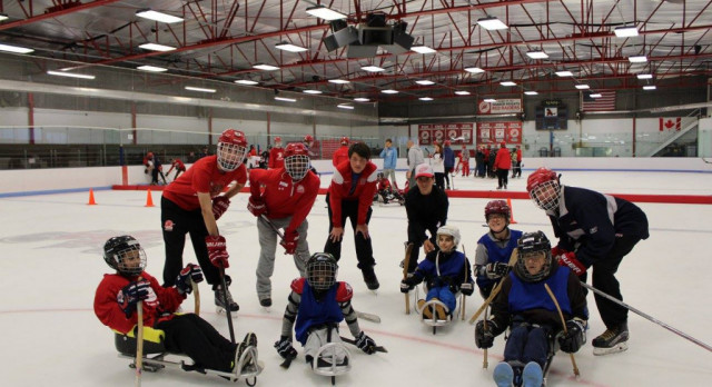 Shaker Hockey hosts 3rd Annual Adapted Ice Breaker