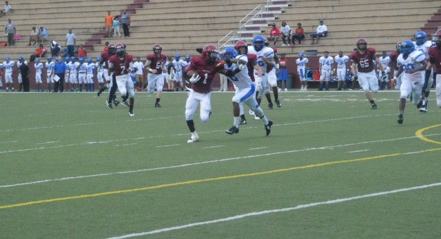 Prattville High School Varsity Football beat George Washington Carver High School 21-7
