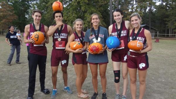 PHS XC Teams Awarded  6 Pumpkins at Jack O' Lantern Jamboree