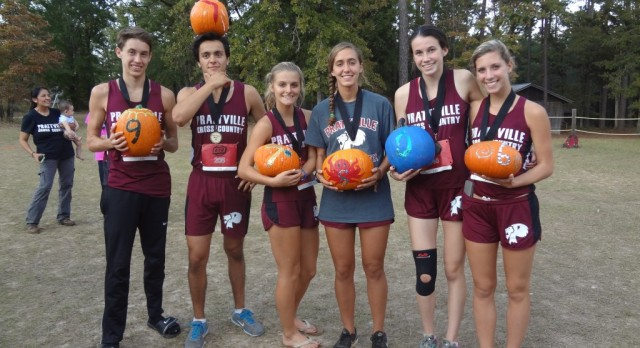PHS XC Teams Win 6 Pumpkins at Jack O' Lantern Jamboree
