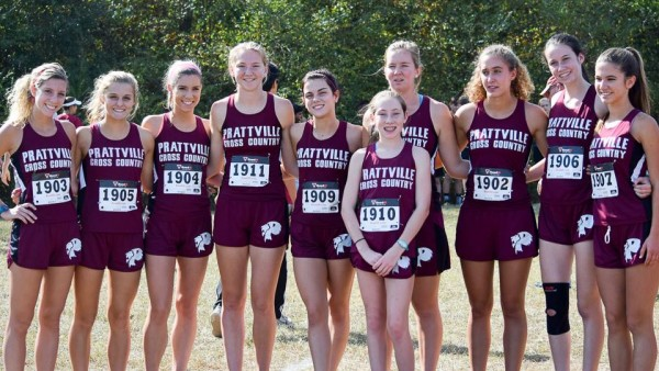 PHS Women's XC Team Qualifies for State