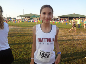 Catherine Ragsdale (7th Grade) - fastest Prattville Girls' time of season at 21:25
