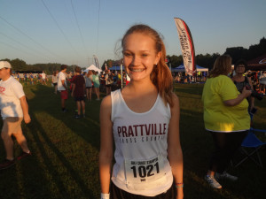 Sarah Holston cuts PR by 39 seconds
