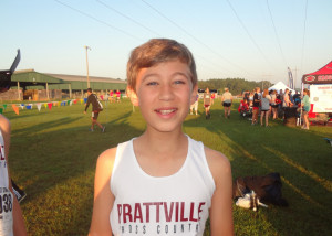 Christopher Foster (7th Grade) knocks 20 seconds off his PR