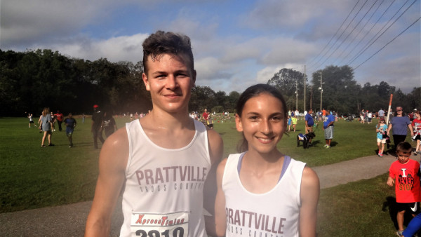 Ryan Holtzscher & Catherine Ragsdale led the PHS XC teams at AUM Warhawk Challenge
