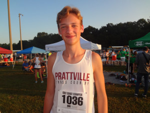 Sophomore Kaleb Arensmeyer drops 49 seconds from PR!