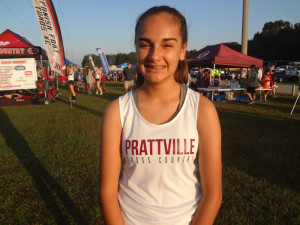 Caroline Cruz (junior) slashed 1:53 off her PR