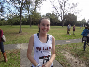 Emma Nelson slashes 25 seconds off PR to help team qualify for States!