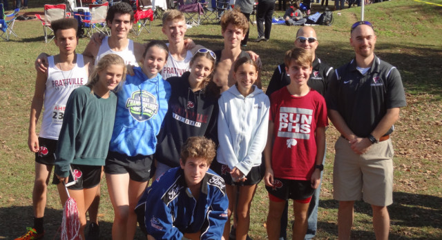 PHS XC at State: GOOD TIMES!