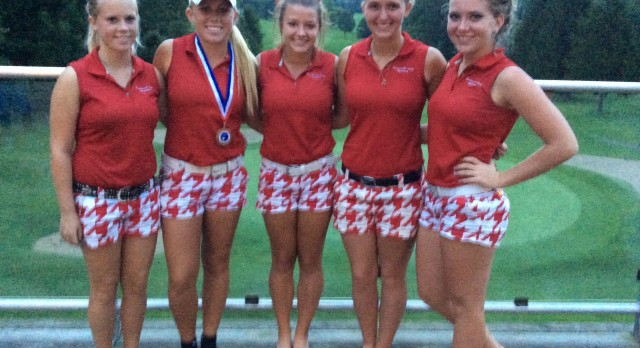 Connersville High School Golf Varsity Girls finishes 3rd place at Connersville Invitational