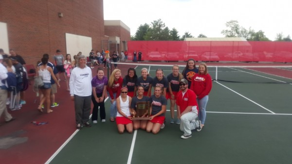 2015 Girls Tennis Sectional