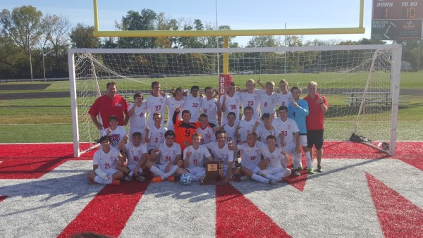 2015 Boys Soccer Sectional Champions