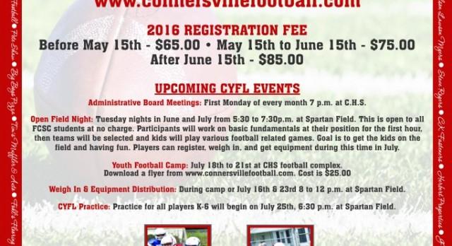 Youth Football Registration