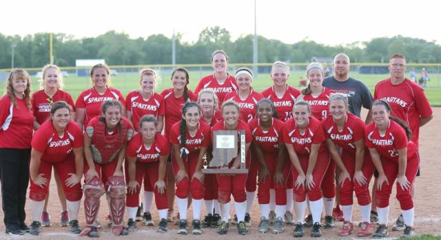 Connersville High School Varsity Softball beat Franklin County High School 6-2