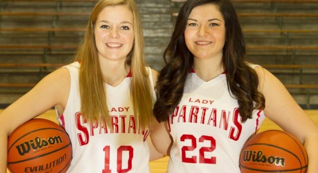 Lady Spartan basketball players make news