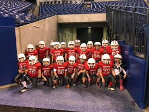 3rd Grade ready to take the field