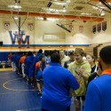 Wrestling Home Opener on 12/9/15