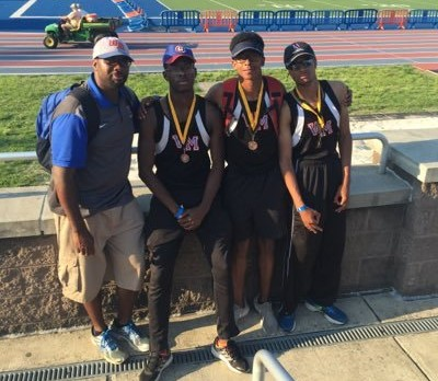 Wolverine Track Team Compete Hard at State Championships