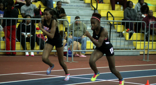 Watkins Mill Track Team Compete at MOCO Invite