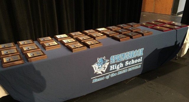Blue Devil Athletes Honored With Awards From Coaches & Department