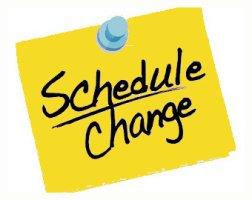 3/10 & 3/11 Practice Schedule Updates