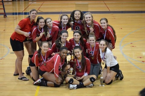 Girls Volleyball Magruder Invitational Tournament Champions!