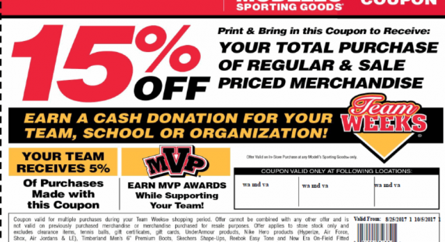 Shop at Modell's Sporting Goods