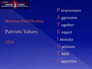 patriots-values