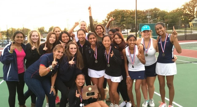 Girls Tennis Capture County Championship